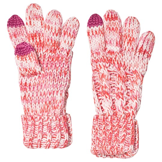 Gap Cable Knit Gloves Multi Pink Multi