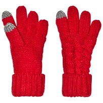 GAP Cable Knit Gloves Modern Red MODERN RED 2