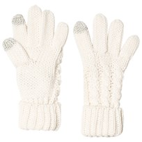 GAP Cable Knit Gloves Ivory Frost IVORY FROST