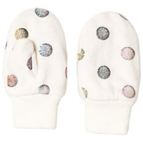 GAP Shimmer Dots Mittens Ivory Frost IVORY FROST