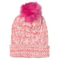 GAP Cable Knit Beanie Multi Pink Multi