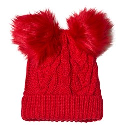 GAP Cable Knit Hat Modern Red