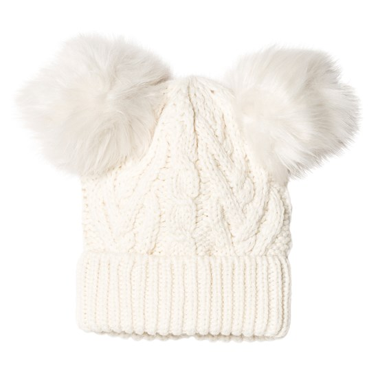 GAP Cable Knit Hat Ivory Frost IVORY FROST