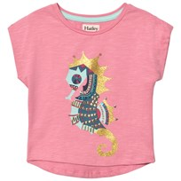 Hatley Jeweled Seahorse T-Shirt Pink Pink