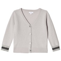 Livly V-Neck Cashmere Cardigan cream/sleeping cutie (grey)
