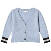 Livly V-neck Cashmere Cardigan blue/sleeping cutie