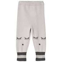 Livly Cashmere pants cream/sleeping cutie (grey)