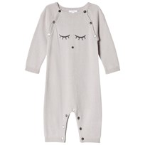 Livly Cashmere Onesie cream/sleeping cutie (grey)