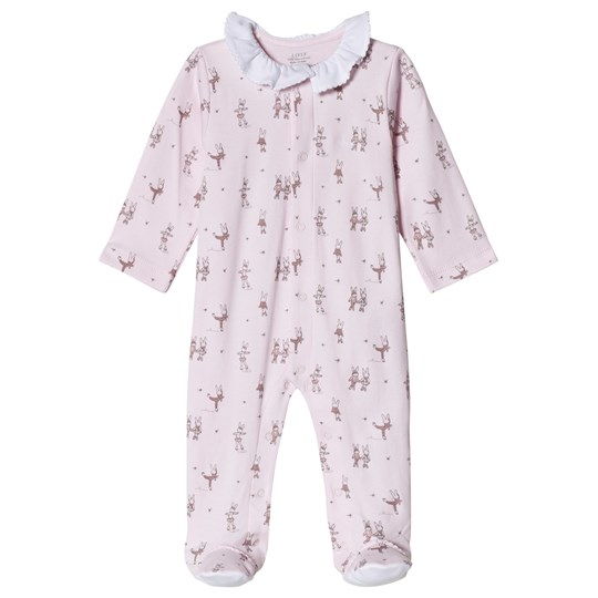 Livly Ruffle Footed Baby Body Skate Bunnies Skate Bunnies (pink)