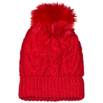 GAP Cable Knit Hat Modern Red MODERN RED