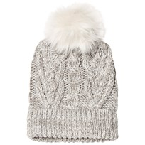GAP Cable Knit Hat Light Heather Gray Light Heather Grey B10