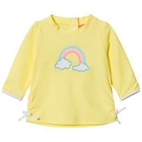 Sunuva Yellow Baby Girl Sorbet Stripe Rash Vest Yellow