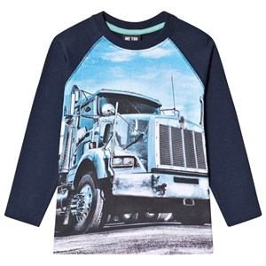 Image of Me Too Truck Tee Dress Blues 128 cm (2989461371)