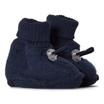 Mikk-Line Wool Baby Shoes Blue Nights Blue Nights