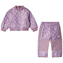 Mikk-Line Thermo set w/fleece Very Grape Very Grape
