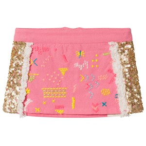 Image of Billieblush Fuchsia Pink and Gold Sequin Skirt 3 years (2989459135)