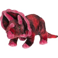 Teddykompaniet Red Teddy Dino Large Rød