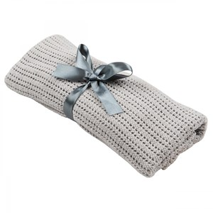 Image of NG Baby Cellular Blanket Graphite Grey One Size (1040601)