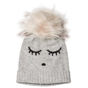 Image of Livly Cashmere Hat Grey/Sleeping Cutie M (2990302905)