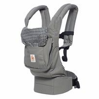 Ergobaby Bärsele Original Steel plaid Steel plaid