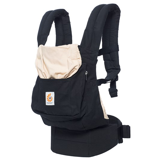 Ergobaby Baby Carrier Original Black and Camel Black/Camel