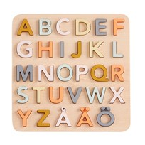 Kids Concept ABC puzzle SWE Natural