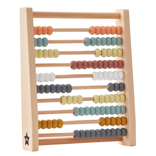 Kids Concept Abacus Multicolor natural/multi