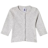 Petit Bateau Gray Button Up Cardigan
