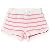 Petit Bateau Pink Striped Summer Shorts