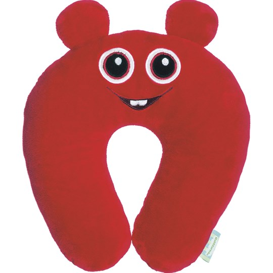 Babblarna Bobbo Neck Pillow Red