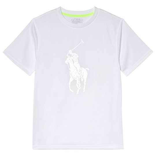Ralph Lauren Pure White Big PP Performance Tee PURE WHITE