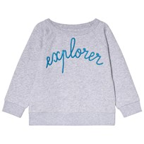Maison Labiche Grey Explorer Jumper Heather Grey