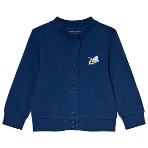 Image of Maison Labiche Blue Teddy Explorer Cardigan 10 years (2990302873)