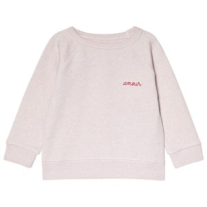 """Image of Maison Labiche Pink """"Amour"""" Sweater 10 years (2990303329)"""