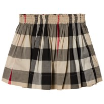 Burberry Check Hala Skirt Beige New Classic Check