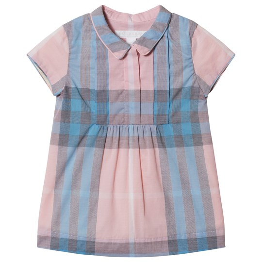 Burberry Pleated Check Dress Ice Pink Ice Pink