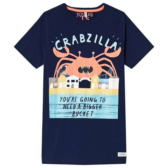 Tom Joule Crab Printed Tee Navy Navy Clawsome Crabs