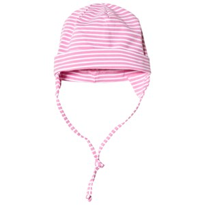 Image of Maximo Baby Hat with Earflaps Pink and White 43 cm (2992151067)
