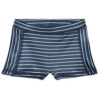 MarMar Copenhagen Swell Stripe Swimpants Oceanic Blue Stripe Oceanic Blue