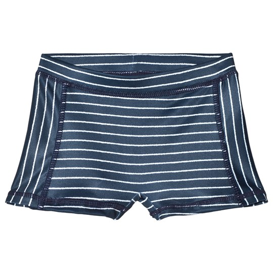 MarMar Copenhagen Swell Swimpants Stripe Oceanic Blue Stripe Oceanic Blue