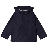 Burberry Shape Memory Hooded Taffeta Jacket Navy Laivastonsininen