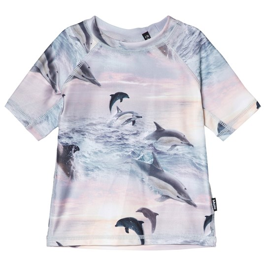 Molo Neptune UV Shirt Dolphins Sunset Dolphins Sunset