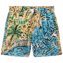 Burberry Seaside Print Swim Shorts Sand Hiekka