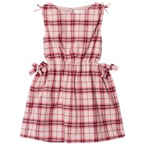 Burberry Tie Detail Check Dress Bright Rose BRIGHT ROSE