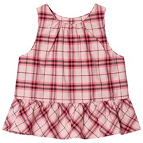 Burberry Ruffle Check Top Bright Rose BRIGHT ROSE