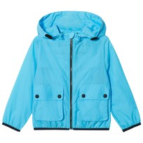 Burberry Showerproof Hooded Jacket Bright Turquoise BRIGHT TURQUOISE
