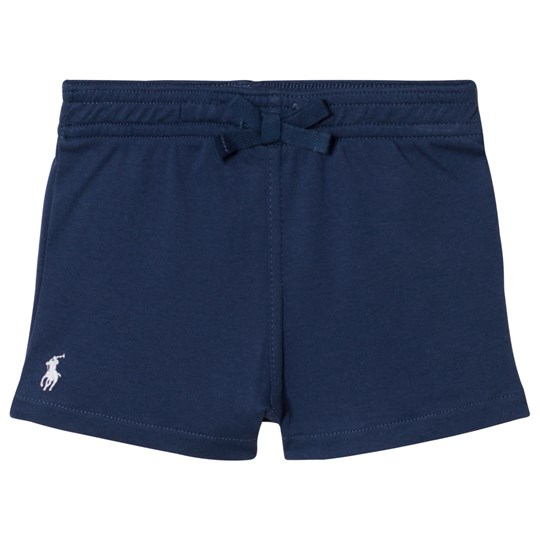 Ralph Lauren Navy Jersey Sweat Shorts 001