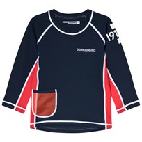 Didriksons Surf Long Sleeve UV Top Navy Navy