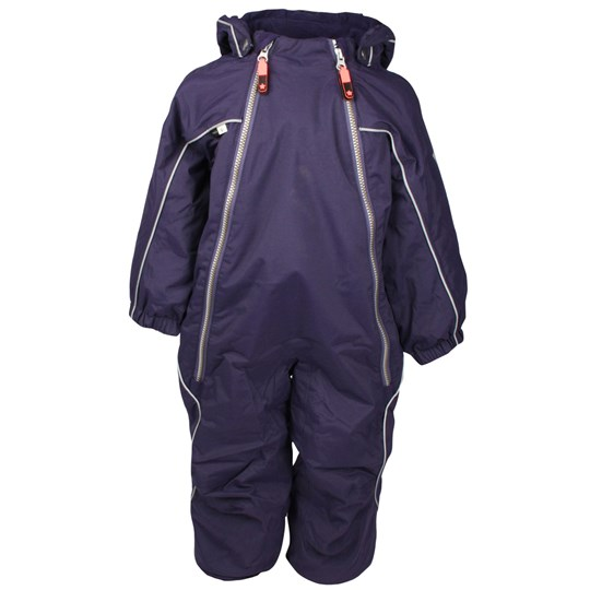 Molo Pyxis Baby Coverall Fig Purple