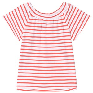 Image of Lands End Red Striped Knit Top 6-7 years (3013783749)